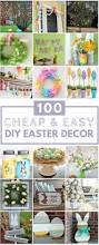 Easter Decorations For Home 100 Cheap U0026 Easy Easter Diy Decorations Prudent Penny Pincher