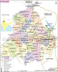 Map Of Colorado And Surrounding States by Punjab Map State Information Districts And Facts