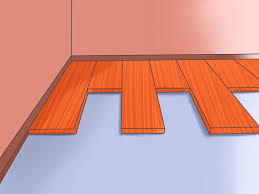Difference Between Engineered Wood And Laminate Flooring How To Install Pergo Flooring 11 Steps With Pictures Wikihow