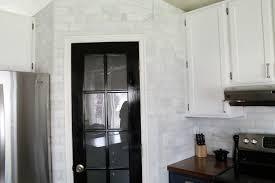 That Hampton Carrara Marble BacksplashDonezo Chris Loves Julia - Carrara tile backsplash
