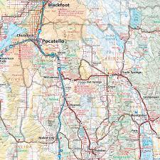 Springfield Oregon Map by Idaho Recreation Map U2014 Benchmark Maps
