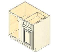 Bbc Vintage White Blind Base Corner Cabinet Corner Base Kitchen - Corner kitchen base cabinet