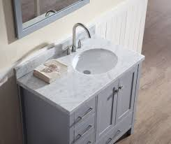 Bathroom Vanity 42 by 42 Inch Vanity Single Sink Bathroom With Right Offset Bathroom