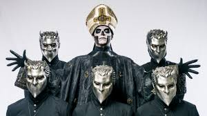 ghost half mask photo gallery everyone in the known universe was papa emeritus