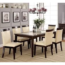 Five Piece Dining Room Sets Mainstays 5 Piece Faux Marble Top Dining Set Walmart Com