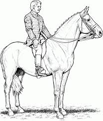 horse coloring pages online horse printable coloring pages free
