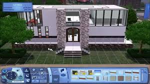 Small House Build The Sims 3 Small Modern House Build Youtube
