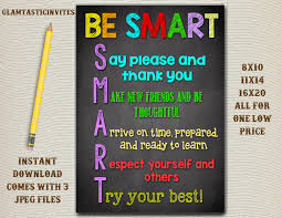 Office Decoration Items by Classroom Decor Teacher Decor Be Smart Good Choices Quotes