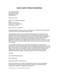 cover letter format for federal job position example  Pinterest