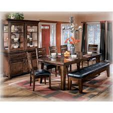 Ashley Furniture Dining Room Table Owareinfo - Ashley furniture dining table with bench