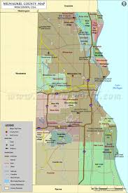 Map Of Cities In Usa by Milwaukee County Map Wisconsin