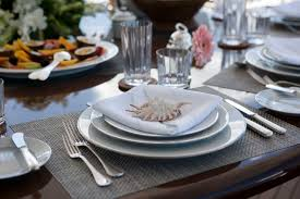 table setting motor yacht imperial princess luxury yacht table