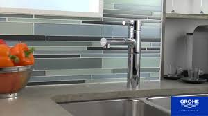 Grohe Concetto Kitchen Faucet by Grohe Essence Product Video Youtube