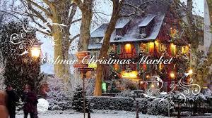 colmar france christmas market brief glimpse youtube