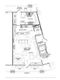 new floor plan for bakery u2014 evstudio architect engineer denver