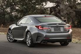 lexus is sedan 2016 2016 lexus rc coupe adds turbo four 200t v 6 300 awd models