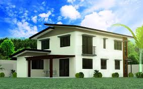 model 5 4 bedroom 2 story house design