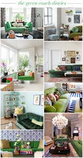 Green Sofa Living Room Ideas The Green Couch Diaries Green Sofa Inspiration Sofa Inspiration