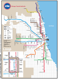 Chicago Line Map by Chicago Subway Maps My Blog