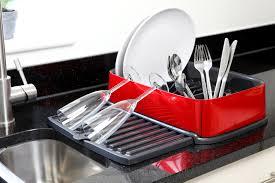 Plastic Dish Drying Rack Single Tier Dish Drying Rack Stainless Steel Drainer Dish Rack