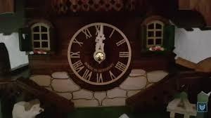 best german souvenir original cuckoo clock made in germany youtube