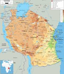 Map Of Kenya Africa by Tanzania Map Map Travel Holiday Vacations