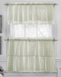 Elegant Kitchen Curtains by 16 Best Sheer Kitchen Curtains Images On Pinterest Kitchen