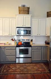 Kitchen Cabinets Inside Surprising Two Tone Kitchen Pictures Design Ideas Tikspor