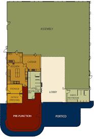 Community Center Floor Plans Floor Plans For Natchez Convention Center Natchez Convention Center