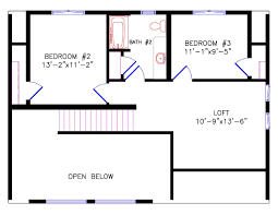 Floor Plans With Loft Chalet