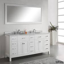 virtu usa caroline parkway 72 double bathroom vanity set in white