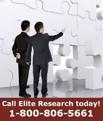 Elite Research is not your average dissertation coaching company  With more than    years of experience working with graduate schools and the passion to     Elite Research  LLC