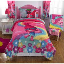 dreamwork u0027s trolls poppy reversible twin full bedding walmart com
