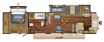 2018 jay flight bungalow travel trailer floorplans u0026 prices