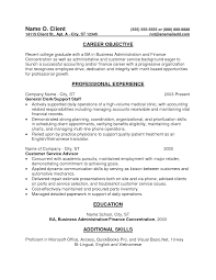Sample Resume Objectives When Changing Careers by Sample Resume Entry Level Sales Position