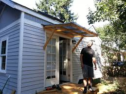 Simple Covered Patio Designs by Best 10 Diy Awning Ideas On Pinterest Patio Shade Backyard