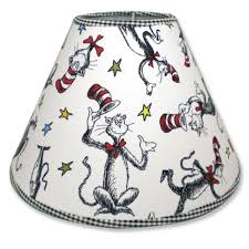 amazon com trend lab dr seuss lampshade cat in the hat