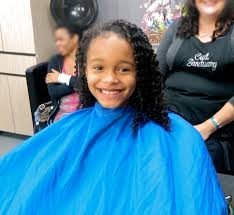 first hair cut for my daughter biracial naturally curly hair