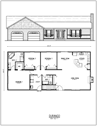 three bedroom house floor plans outstanding small open ranch