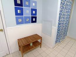 Wainscoting Ideas Bathroom by Weekend Projects Install Wainscoting Hgtv