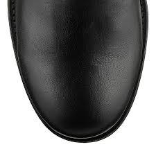 real biker boots black leather with rabbit fur biker boots biker jimmy choo