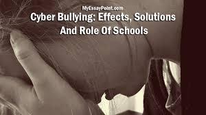 Cyber Bullying Essay Conclusion Brefash