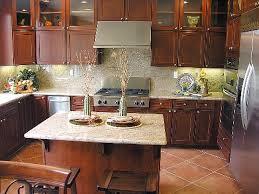 Modren Kitchen Backsplash Ideas With Cherry Cabinets Tile Dark - Kitchen backsplash ideas dark cherry cabinets
