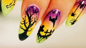 nail art beauty by arielle quick and easy halloween nail art for