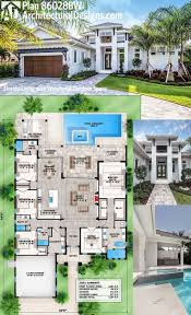 Two Car Garage Size by Best 25 Modern House Plans Ideas On Pinterest Modern House