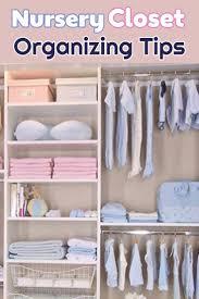 Closet Organizer For Nursery Brilliant And Easy Baby Closet Organization And Nursery Closet