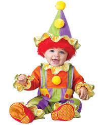 Clowns Halloween Costumes Baby Clown Costume Clown Halloween Costumes Babies