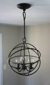 home with baxter orb chandelier