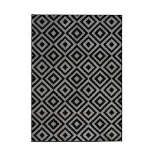Funky Rugs Matrix Mt89 Black Grey Rug By Think Rugs Funky Modern Rugs By Tr