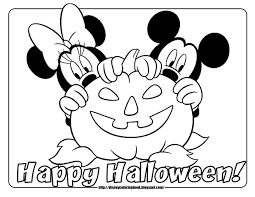halloween coloring pages mickey mouse learn language me